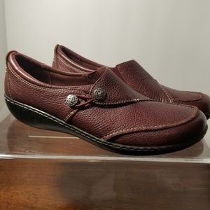 Shoes - Clark's Leather Loafers size 12
